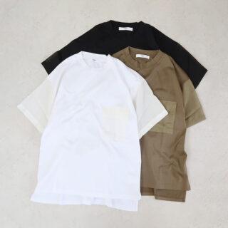 UNIVERSAL TISSU ユニヴァーサルティシュ  マルチエフェクトジャージー ポケットTシャツ【全3色】