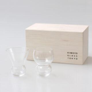 木本硝子キモトガラス  Rondes ペアグラス