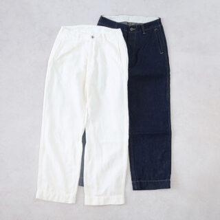 Veritecoeur ヴェリテクール  バーティカル ポケット デニム【全2色】