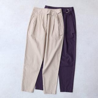 humoresque ユーモレスク |waist belt pants【全2色】