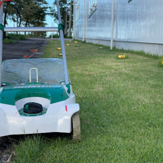 電動芝刈り機