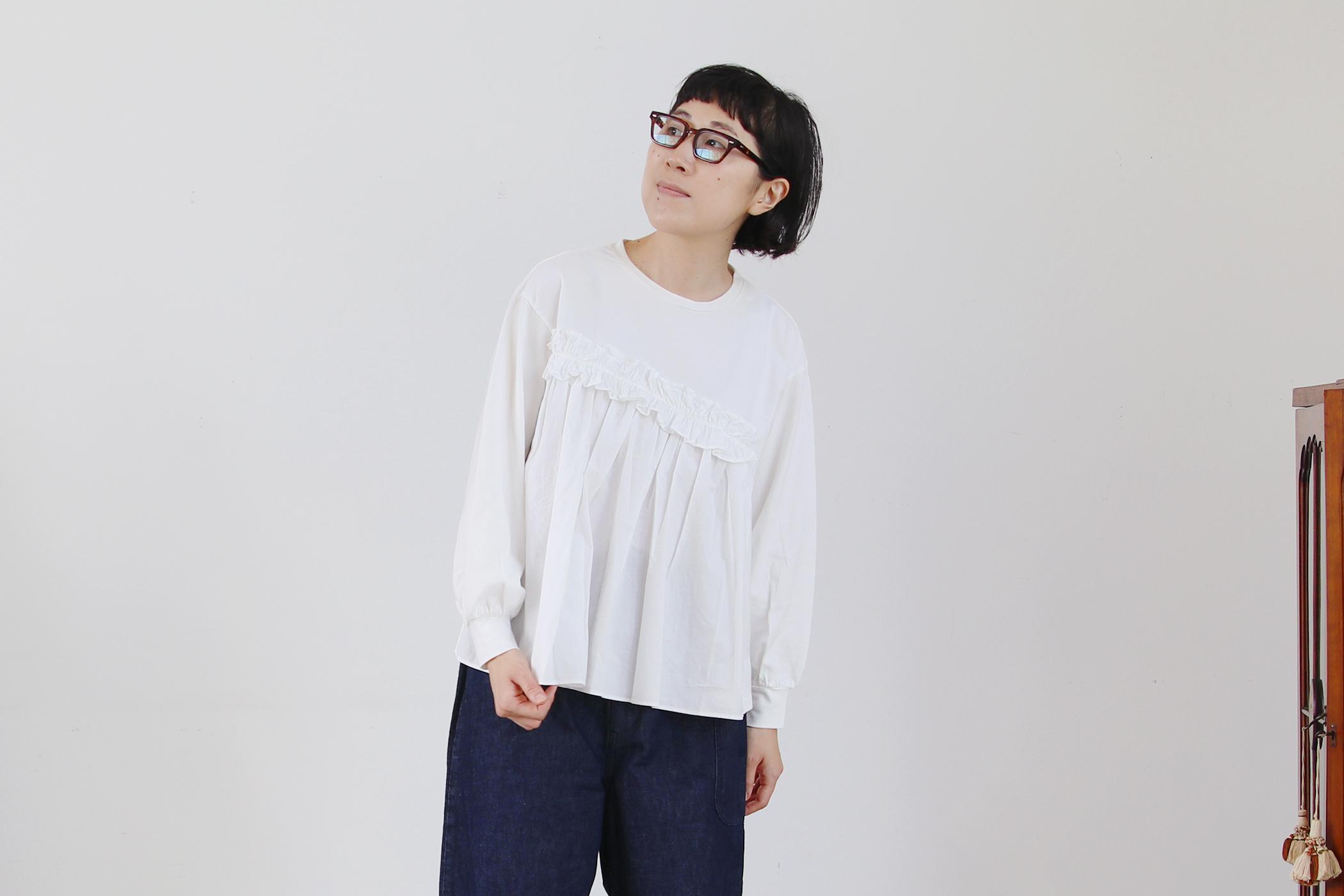 クラシック天竺 コンボプルオーバー【全3色】