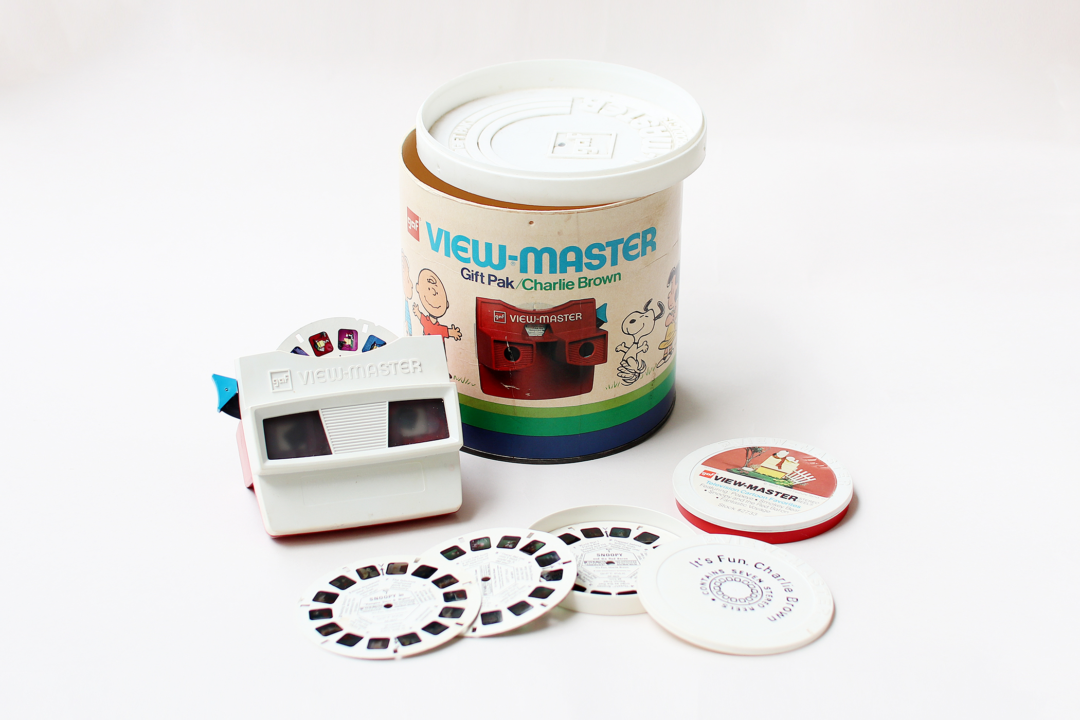 VIEW-MASTER -SNOOPY-